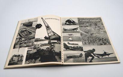 1953  Porte-Avions Arromanches  Groupe porte-avions d'Extrême-Orient, Mission 1952-1953,...