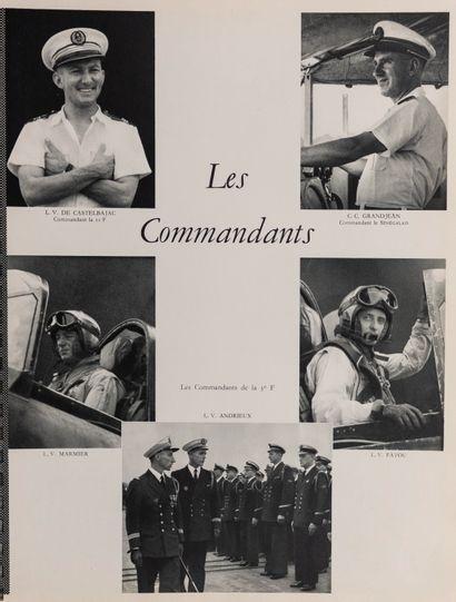 1954  Porte-Avions Arromanches  Groupe porte-avions d'Extrême-Orient, Campagne 1953-1954,...