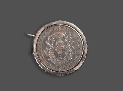 1906. Médaille en argent du couronnement...