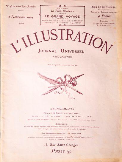 1929  Documentation sur l'école des Beaux Arts de l'Indochine (1929-1932).  Trois...
