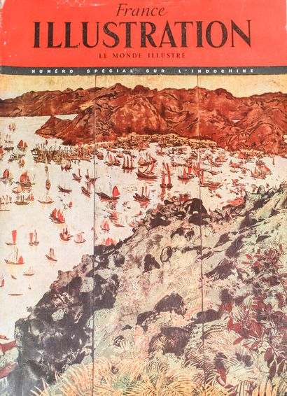 1929  Documentation sur les Beaux-Arts de l'Indochine et les peintres voyageurs....