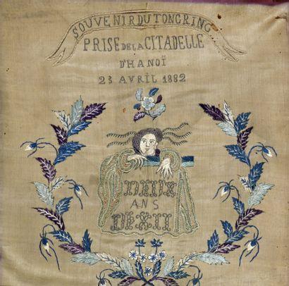 1882. Souvenir du Toncring. Prise de la Citadelle...