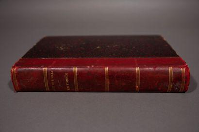 1886  Documentation sur le Tonkin (1886-1935)  Un ensemble de sept livres et ouvrages....