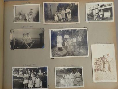 1929  Album de voyages de la famille d'un...