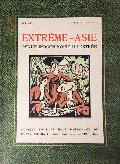 1926  Extrême-Asie.  La revue Indochinoise...