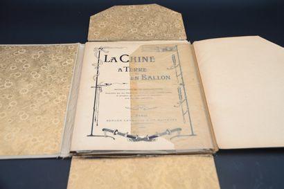 1902  La Chine à Terre et en Ballon.  Berger-Levrault & Cie, Paris, 1902. Dimensions...