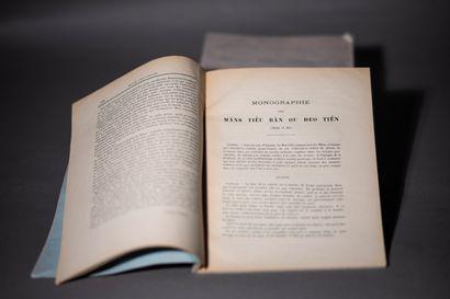 1907  La Revue Indo-Chinoise.  Un lot de...
