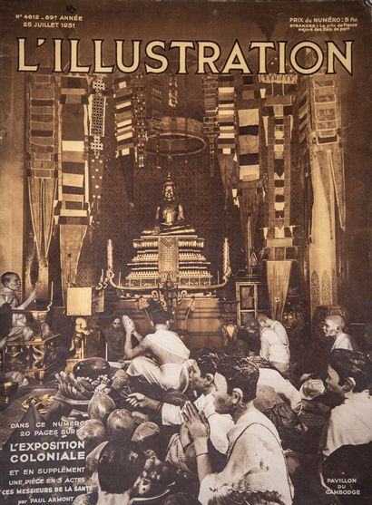 Documentation sur les Expositions Coloniales de Lyon 1914, Marseille 1922 et Paris...
