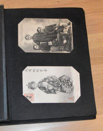 1907. Règne de S.M. l'empereur Duy Tan (1907-1916),...