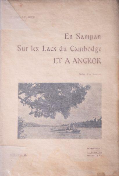 1922  F. Gas-Faucher  En sampan sur les lacs...