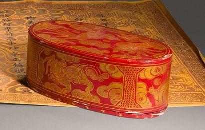 1900. Regne de S.M. l'Empereur Thanh Thai...