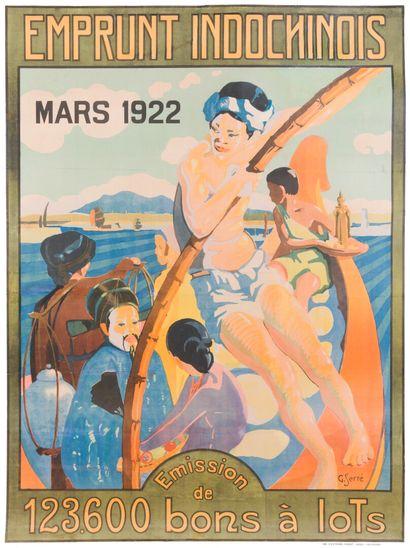 1922  Georges Serré (1889-1956)  Emprunt...