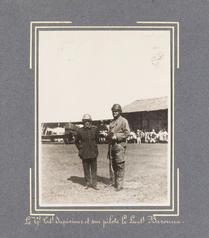 1927  Fond de Jules Bosc, résident supérieur au Laos de 1918 à 1931.  Mission aérienne...