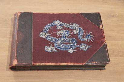 1934  Visions d'Indochine (1933-1934)  Album de propagande touristique réalisé à...