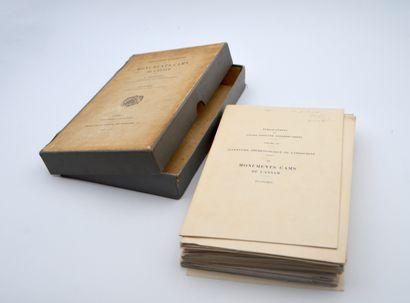 1909  Henri Parmentier (1870-1949)  Inventaire...