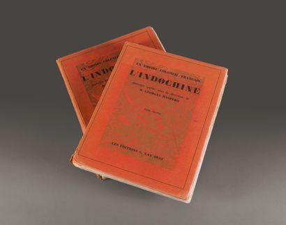 1929  Ouvrage publié sous la direction de Georges Maspero  UN EMPIRE COLONIAL FRANÇAIS...