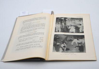 1931  Deux brochures sur les écoles d'Art en Indochine éditées par le Gouvernement...