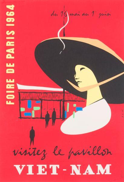 1964  Foire de Paris du 16 mai au 1er juin...