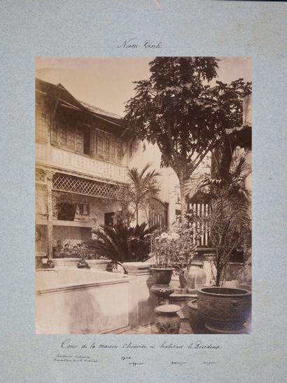 1939  Protectorat du Cambodge  Résidence de Pursat  Quinze jours de tournée dans...