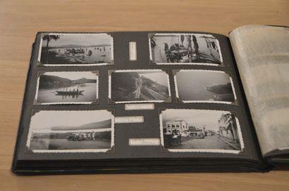 1937  Voyage en Indochine (Cochinchine, Annam, Cambodge) 1937-1939.  Album amateur...
