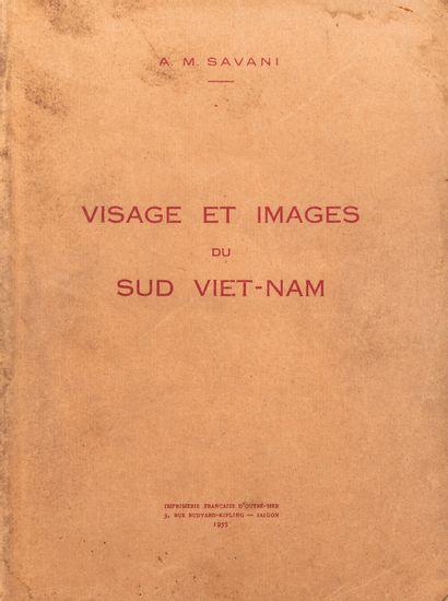 1955  A.M. Savani  Visage et images du Sud...