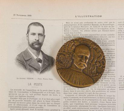 1899. Institut Pasteur. Médaille en bronze...
