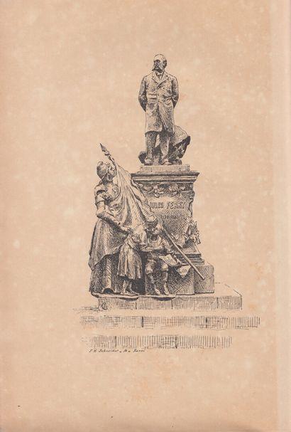 1903.  A Jules Ferry. Haïphong, 13 janvier 1903.  Edité par le comité d'inauguration...