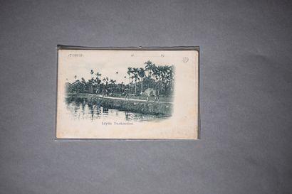 1883.  Deux plaquettes sur Saïgon et la Cochinchine.  - M.A. Petillon / La Cochinchine...