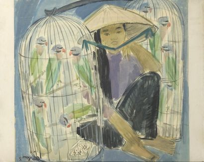 STEPHANE MAGNARD (1947-?)  Premier Prix de...