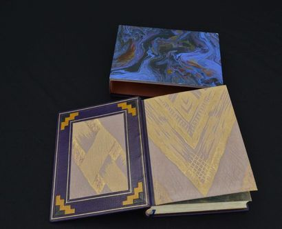 1929. ROLAND DORGELES  SUR LA ROUTE MANDARINE  Eaux-fortes en couleurs et dessins...