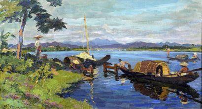 GUSTAVE MARTINIEN SALGÉ (1878-1946).  Prix...
