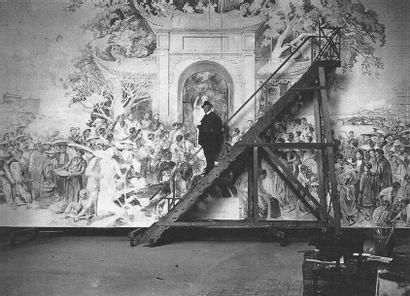 VICTOR TARDIEU (1870 -1937).  Ecole des Beaux-Arts de Lyon, Prix de l'Indochine...