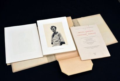 1937 L. MALLERET - G. TABOULET - KODAK - LAGNEAU ET DIVERS GROUPES ETHNIQUES DE...