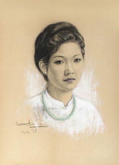 Ecole des Beaux Arts de l'Indochine.  UNE...