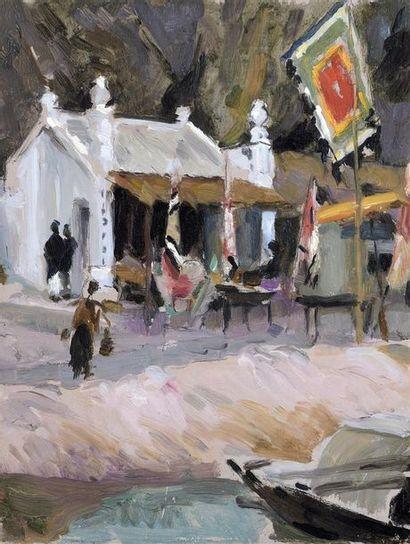 Ecole des Beaux Arts de l'Indochine.  HANOI....