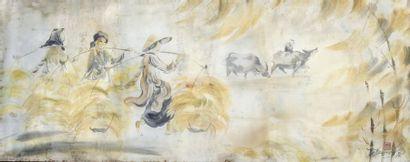 TU DUYEN (1915-2012).  Ecole des Beaux-Arts...