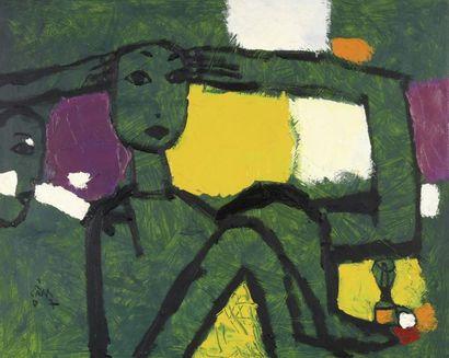 HOANG HONG CAM (1959-2011).  Ecole des arts...