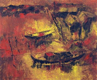 LE BA DANG (1921-2015).  École des Beaux-Arts...