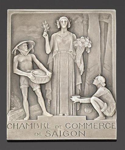MARINE DE SAIGON. CHAMBRE DE COMMERCE DE...