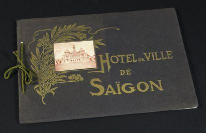 1908. HOTEL DE VILLE DE SAIGON.  Petit livret...