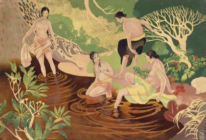 LE THY (1919-1961)  Ecole de Thu Dau Mot....