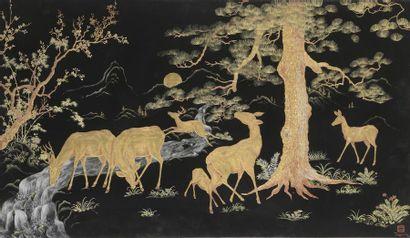 TRAN VAN HA (1911-1974).  Ecole des Beaux-Arts...