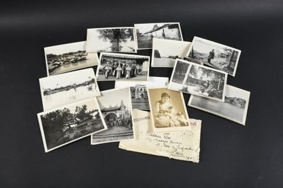 1925  VO CHUAU (XXe)  Photographe actif à Hué entre 1915 et 1940  VISIONS DE L'INDOCHINE...