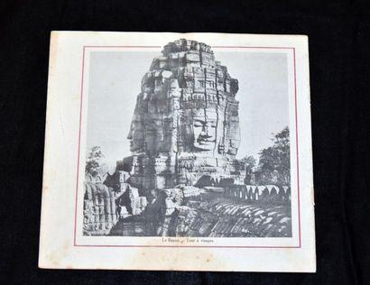 ANGKOR. GOUVERNEMENT GÉNÉRAL DE L'INDOCHINE  Illustration originale de couverture...
