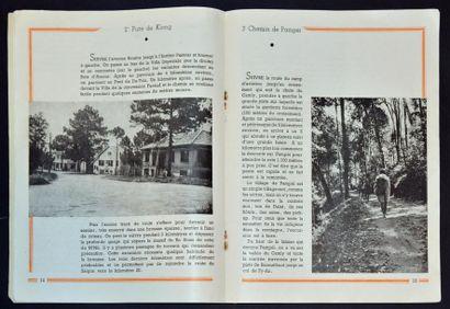 DALAT  PLAQUETTE TOURISTIQUE DE 24 PAGES EDITEE PAR L'OFFICE CENTRAL DU TOURISME...