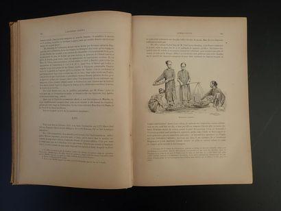 1887. P. BONNETAIN  L'EXTREME ORIENT  Edition Quantin, Paris 1887 (Sans date), format...