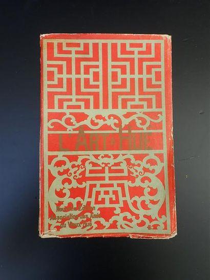 1923.  L'ART A HUE. NOUVELLE EDITION AUTHORISEE...