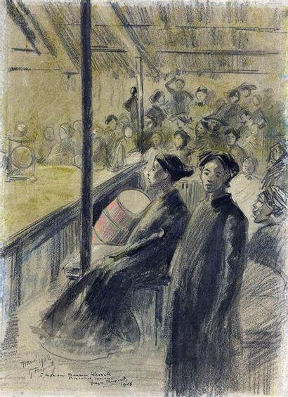 GEORGES FRAIPONT (1873-1912)  Artiste peintre...