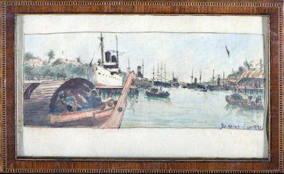 ROBERT DUMONT-DUPARC (1866-1930)  Nommé peintre...