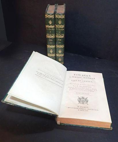 1808. Chrétien-Louis-Joseph de Guignes. Voyage...